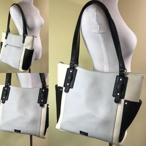 Relic | Large Tote Purse Shoulder Bag Black gray